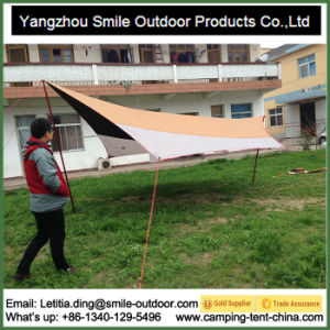 High Quality UV Proof Sunshade Camping Roof Top Tarp Tent pictures & photos