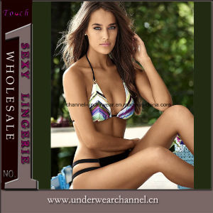 Top Quality Lady Sexy Two-Piece Bikini Swimwear (TKYA1205) pictures & photos