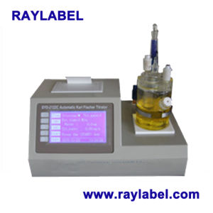 Coulometric Karl Fischer Titrator, Automatic Karl Fischer Titrator, Water Titrator (RAY-2122C) pictures & photos
