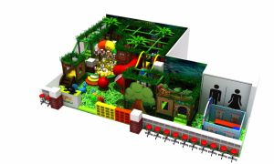 Newest Design Forest Theme Dinosaur Playground Indoor