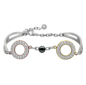 Titanium Steel Jewelry Zircon Women Bracelets Star Fashion