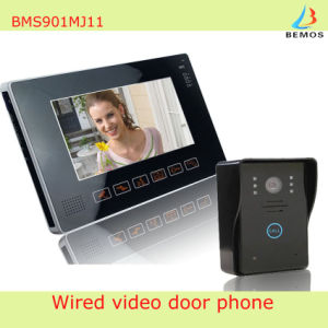 Full Touch Big Screen Video Door Phone Doorbell for Security Use pictures & photos