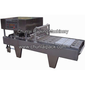Automatic Lunchbox Sealing Film Straight Cut Machine pictures & photos