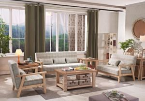 Modern 1+2+3 Living Room Sofa Set pictures & photos