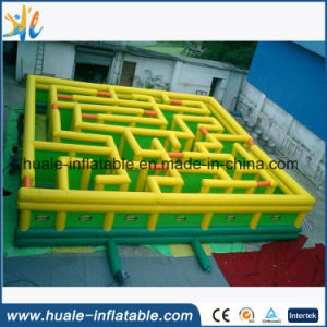 Funny Game Cheap Inflatable Obstacle Course Inflatable Maze for Sale