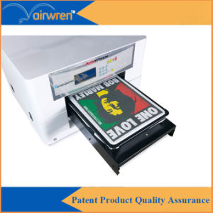 Inkjet T Shirt Printing Machine A3 Size Digital Textile Printer with White Ink