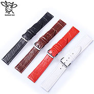 Handmade Band 12mm-24mm OEM Customize Calf Leather Watch Band Interchangeable Function