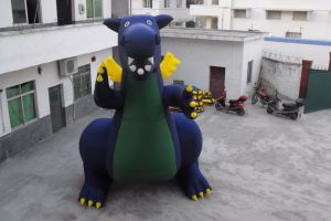Big Promotion Inflatable Fire Dinosaur for Sale pictures & photos