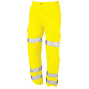 Custom High Visibility Trousers Reflective Work Safety Pants pictures & photos