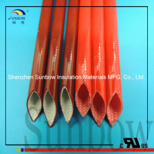 Sunbow 7.0kv Silicone Rubber Coated Fiberglass Sleeves pictures & photos