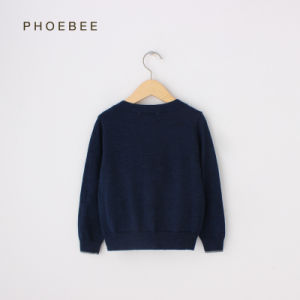 Phoebee 100% Wool Knitting/Knited Boys Clothes Cardigan Sweater pictures & photos