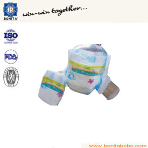 Ultra Thin Cheap Disposable Baby Diaper with PP Tape