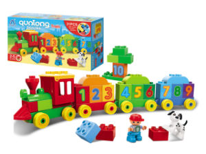 DIY Train Building Block Educational Toys (H6379083) pictures & photos