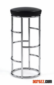 Modern Steel Chrome Metal Satish Counter Bar Stool pictures & photos