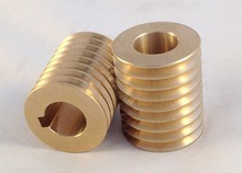 Precision CNC Machinery Copper Screw Parts for Industry System
