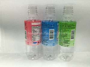 Eco-Friendly PE Label for Beverage and Water Bottle pictures & photos