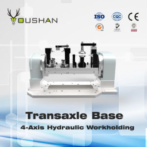 Fourth Axle Transaxle Base Hydraulic Workholding