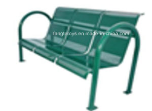 Park Bench, Picnic Table, Cast Iron Feet Wooden Bench, Park Furniture FT-Pb046