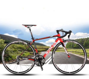Road Bike/Road Bicycle with Carbon Fiber Frame