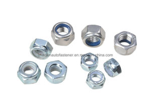 DIN985 Stainless Steel Nylon Lock Nut