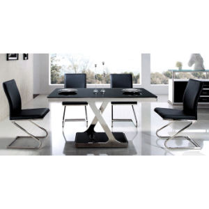Rainbow Mdf High Gloss Dining Room Table And Chair Set