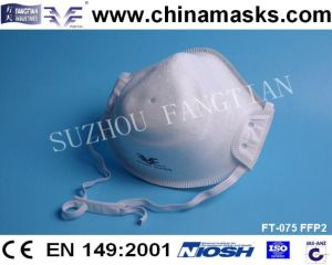 Security CE Mask Disposable Dust Mask Nonwoven Face Mask