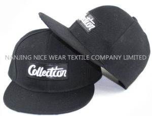 Fashion Snapback Cap with Printing Flat Brim