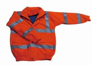Classical Design Security Use Polyester Safety Reflective Coat pictures & photos