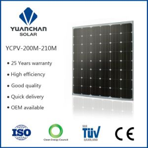 Monocrystal 210W Solar Energy Panel with TUV ISO CE High Sale Volume in China Making You Reliable!