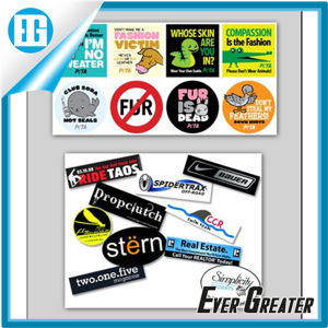 Customized Die Cut Bumper Car Sticker for Wholesale pictures & photos