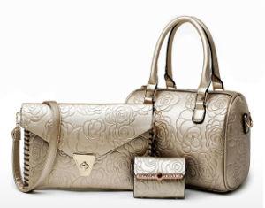 2df93d5ad98a China 2016 New Embossed Lady Handbag Sets 3PCS Fashion Designer ...