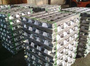 High Quality Pure Aluminum Ingots 99.7% A7 (CH6) pictures & photos