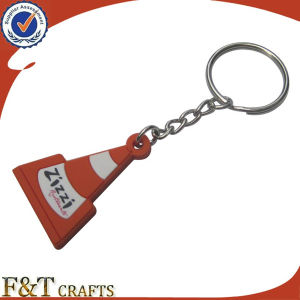 Wholesale Cheap Custom Logo Rubber Soft PVC Keychain (FTPV2719A) pictures & photos