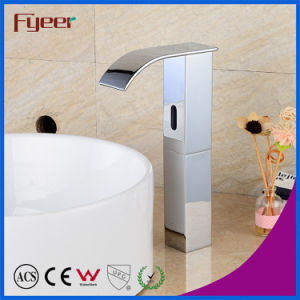 Fyeer High Body Waterfall Automatic Sensor Faucet pictures & photos