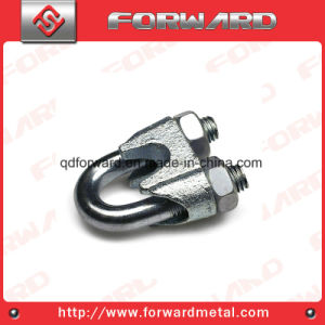 China DIN741 Wire Rope Clip Steel Cable Clamp - China Clip, Forged