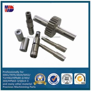 Stainless Steel Custom Machined Worm Gear Screw Shaft pictures & photos