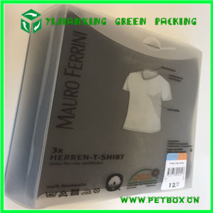 Shirt Garment Designs Clear PP Plastic Box