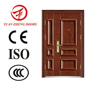 Main Gate Color Steel Double Security Door pictures & photos