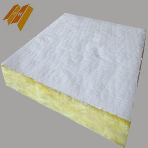 Fireproof Insulation Glass Wool Acoustic Ceiling Tiles