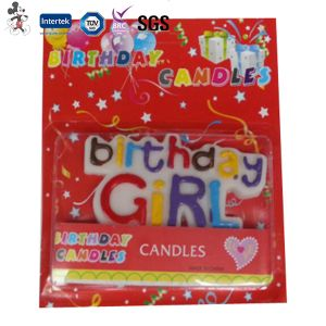 Customized Logo Assorted Letter Happy Birthday Candle pictures & photos