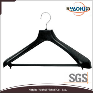 Luxury Plastic Suit Hanger with Metal Hook for Display (52cm) pictures & photos