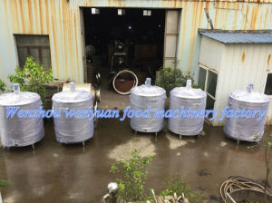 Cheap 1t Capacity Steam Heating Blending Tank pictures & photos