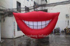 Hot Sale Inflatable Decoration Smile for Promotion