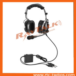 Excellent Performance Pilot Anr Aviation Headset with Two Pin Plug pictures & photos