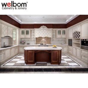 White Oak Wood Kitchen Furniture