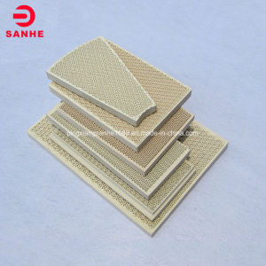 Gas Cookers Infrared Honeycomb Ceramic Plate 135 * 45 * 13 mm