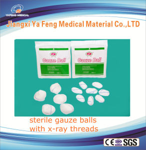 Sterile Absorbent Dental Cotton Gauze Ball Product pictures & photos