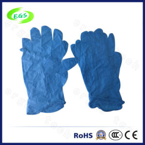 Blue Disposable Nitrile Glove for Powder Free (EGS-05) pictures & photos