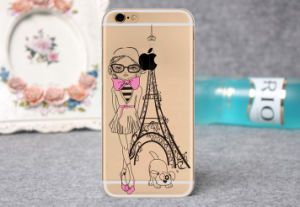 Eiffel Tower Printing Picture Mobile Phone Case for Sale