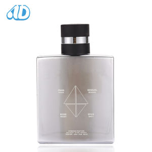 Ad-P18 Square Glass Perfume Bottle Electrosilvering Coating 100ml 25ml pictures & photos